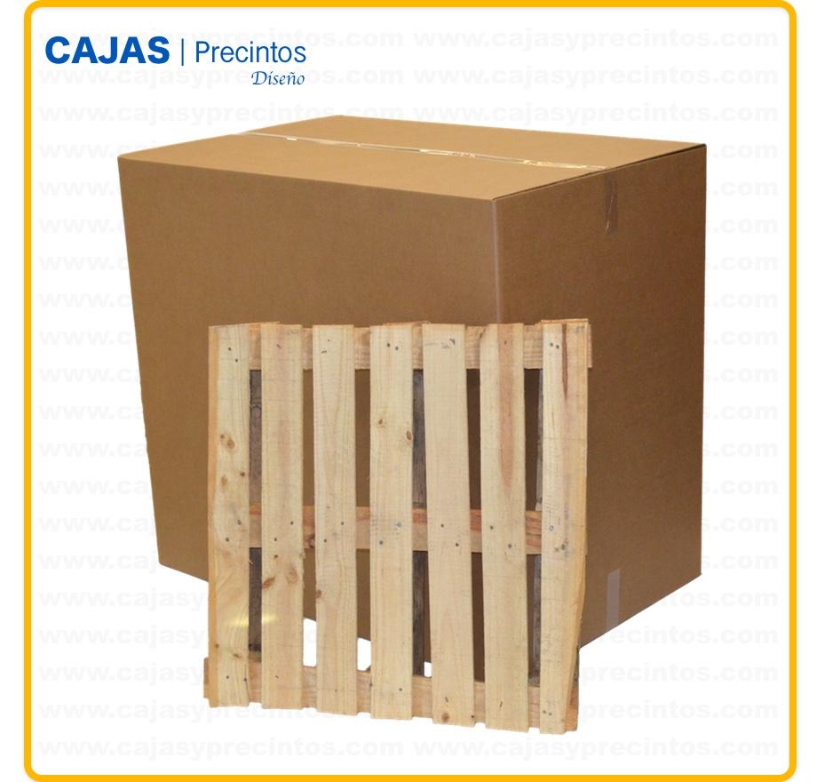 Fb caja doble 118 5 x 78 x 107 cajas y precintos - Tamano palet europeo ...