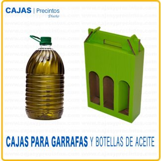 Cajas para Garrafas y Botellas de Aceite