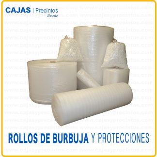 Rollos de burbujas y Protecciones